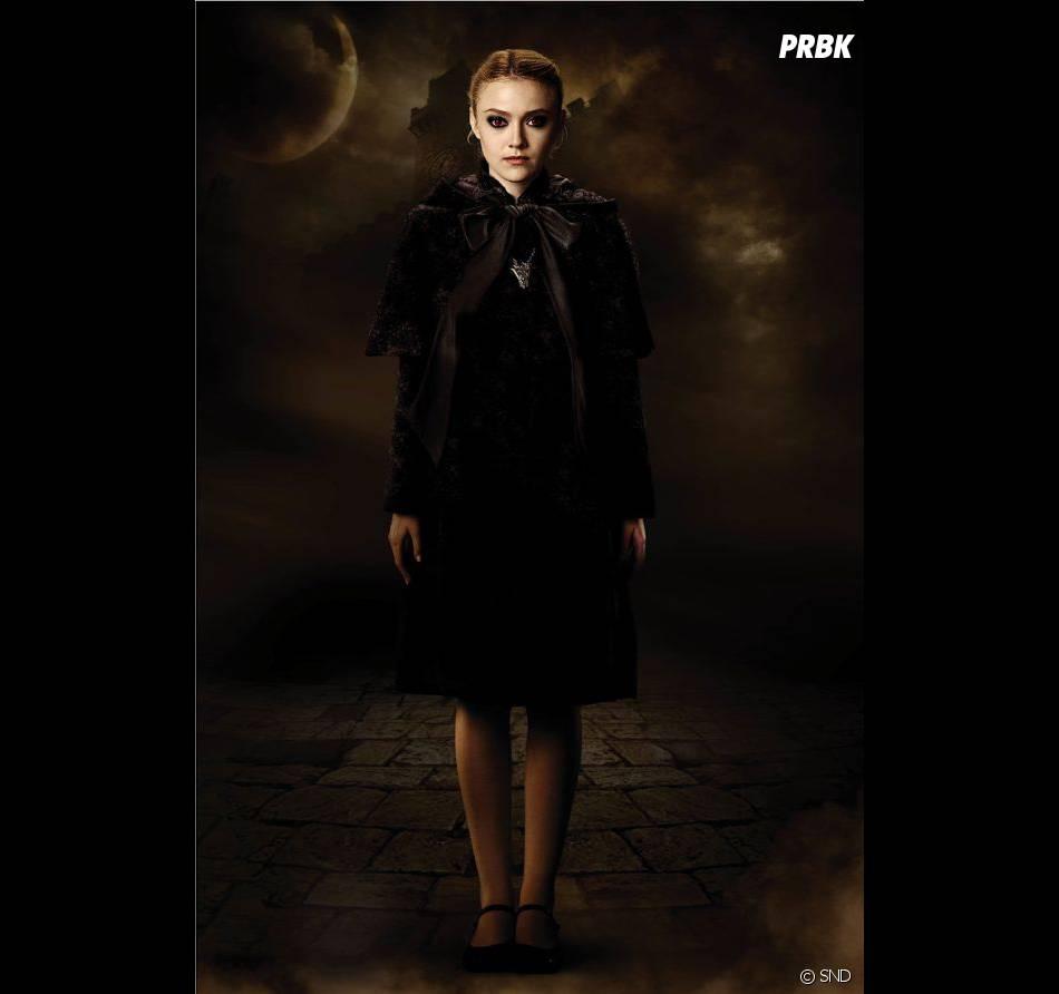 Dakota Fanning bien flippante dans Twilight
