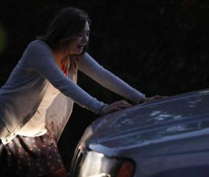 Elizabeth Olsen a du mal à pousser la voiture, toujours dans Silent House
