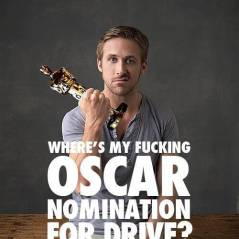 Ryan Gosling privé d'Oscars 2012 : ses fans dégoutés créent une affiche de soutien