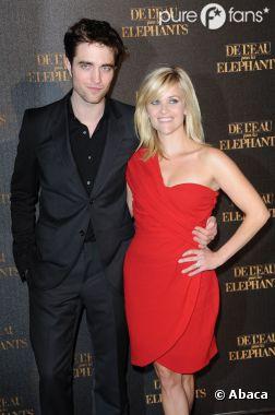 Robert Pattinson et Reese Witherspoon à Paris