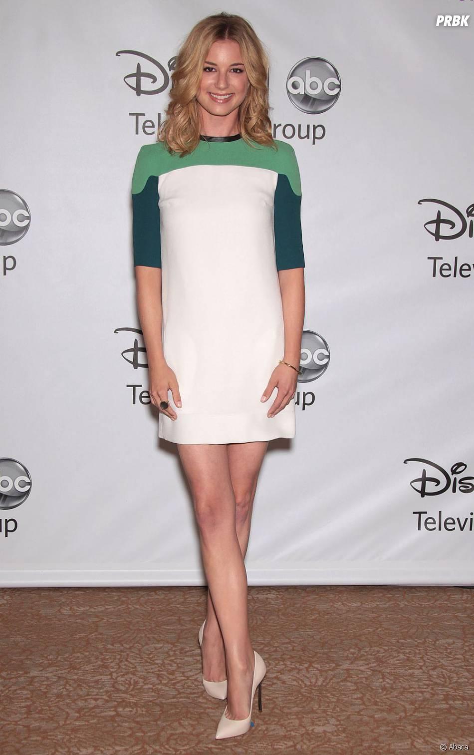 Emily VanCamp à une soirée pour ABC