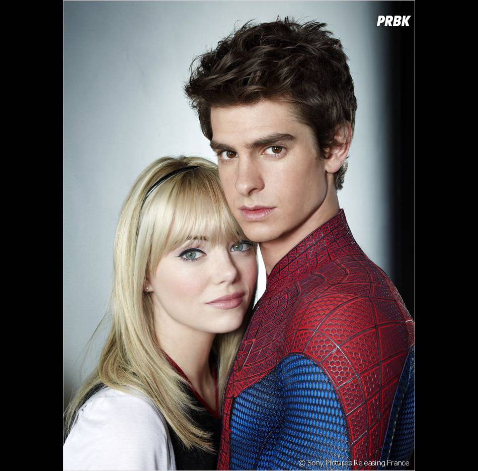 Andrew Garfield et Emma Stone dans The Amazing Spider Man