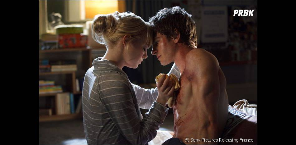 Andrew Garfield et Emma Stone amoureux dans The Amazing Spider Man