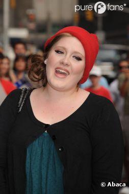 Adele, en pleine prestation