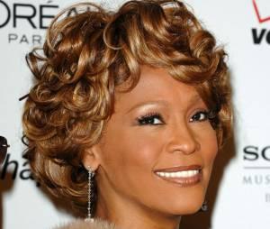 Whitney Houston à une soirée