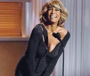 Whitney Houston pleine de joie de vivre