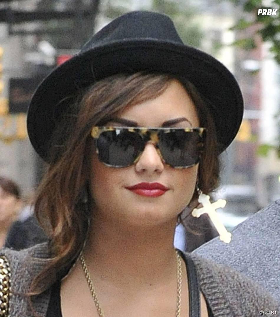 Demi Lovato se la joue rock'n'roll