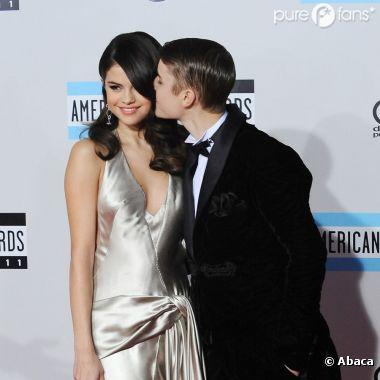 Selena Gomez et Justin Bieber aux American Music Awards
