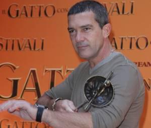 Antonio Banderas lâche l'épée pour le pinceau