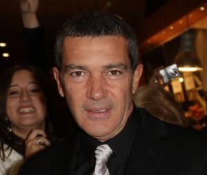 Antonio Banderas sur le tapis rouge du Chat Potté