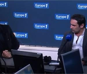 Interview de Jean Dujardin et Gilles Lellouche sur Europe 1