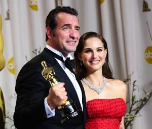 Jean Dujardin et Natalie Portman