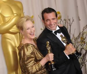 Jean Dujardin et Meryl Streep oscarisés