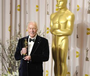 Christopher Plummer et son Oscar