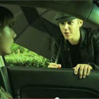 Justin Bieber en roue libre pour la sécurité routière : pas de textos au volant ok ? (VIDEO)