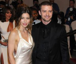 Jessica Biel et Justin Timberlake sur le tapis rouge