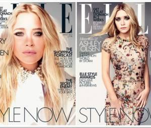 Les soeurs Olsen sur la couv' du Elle UK. Au choix, vous pouvez prendre Mary-Kate ou Ashley !