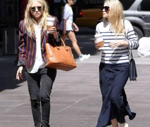 Les soeurs Olsen ont un style très différent à la ville !