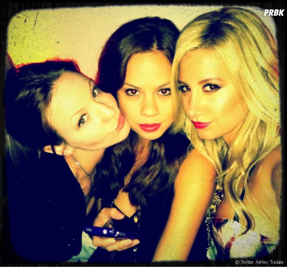 Ashley Tisdale et ses mignonnes copines