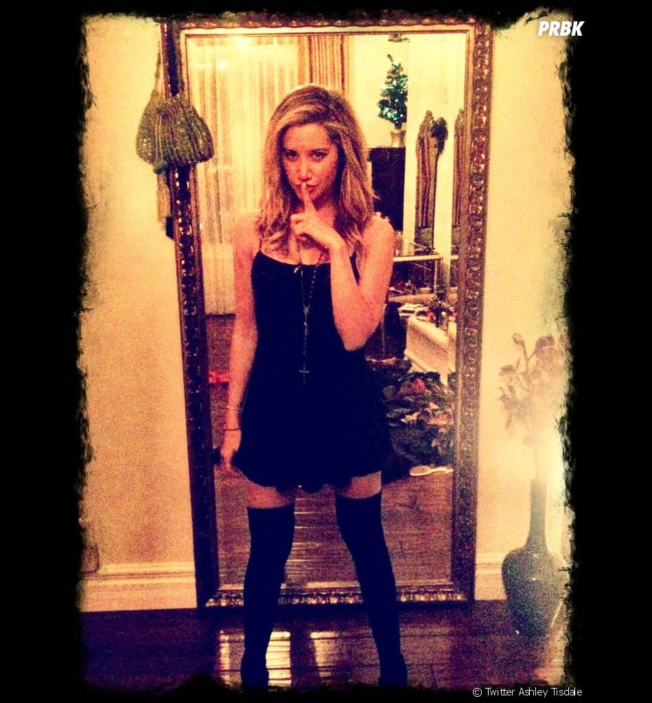 Ashley Tisdale encore so sexy sur Twitter