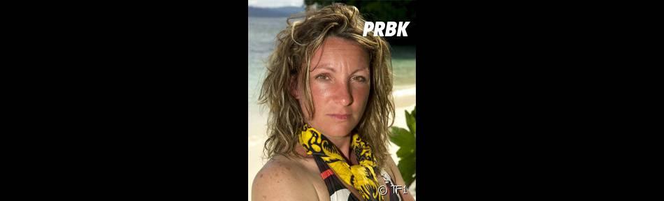 Fabienne était l'une des jaunes éliminée après la réunification dans Koh Lanta 2011