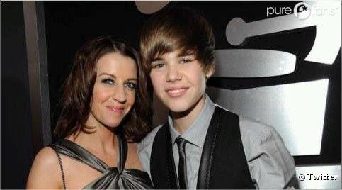 Justin Bieber et sa Môman, s'ils sont pas mimis tous les deux !