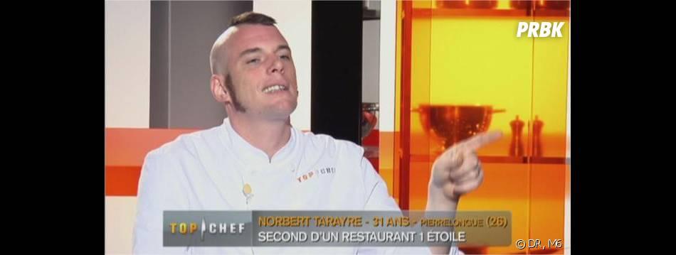 Coupe mi punk mi iroquois pour norbert de top chef for Coupe de cheveux punk iroquois