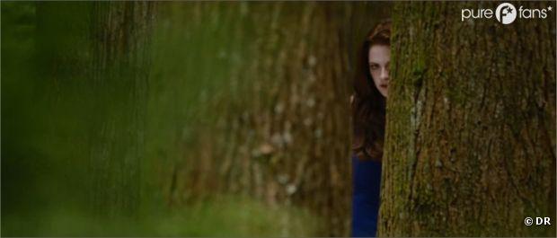 Une des seules scènes ou l'on voit Bella