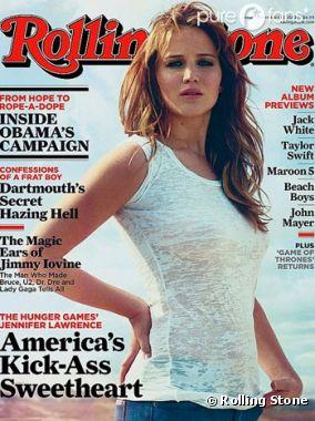 Jennifer Lawrence en une de Rolling Stone