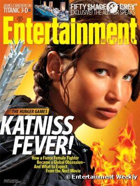 La Katniss Fever en une de EW
