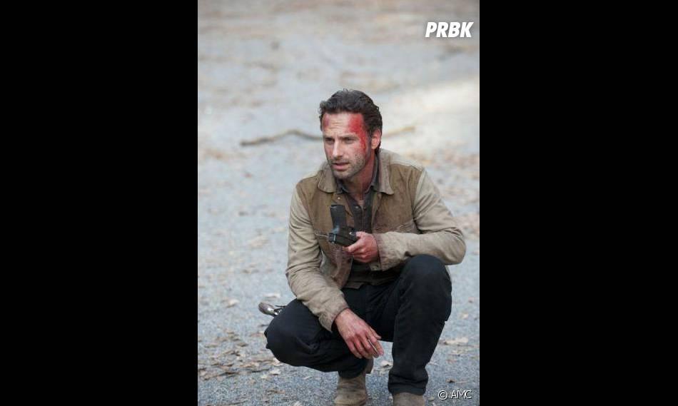 Rick dans Walking Dead