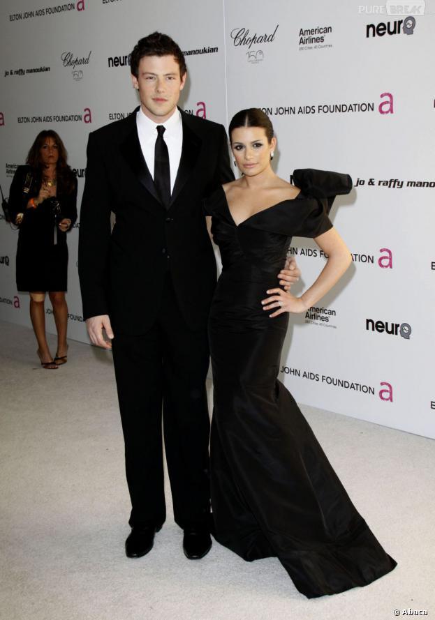 Lea Michele et Cory Monteith amoureux