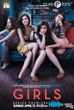 La série Girls débarque aux USA