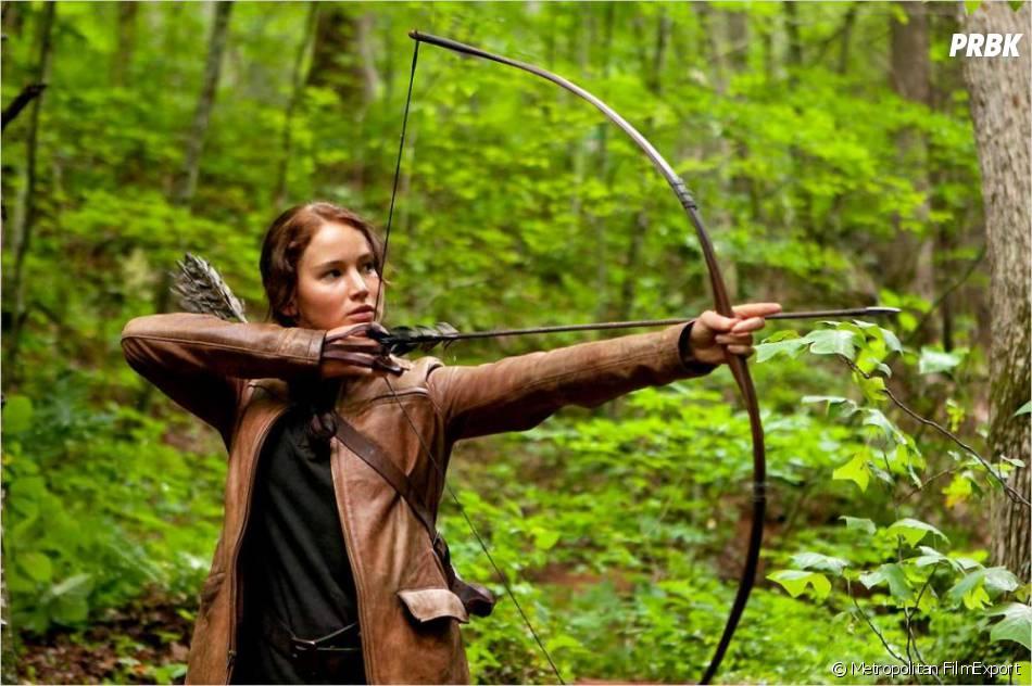 Katniss alias Jennifer Lawrence dans Hunger Games