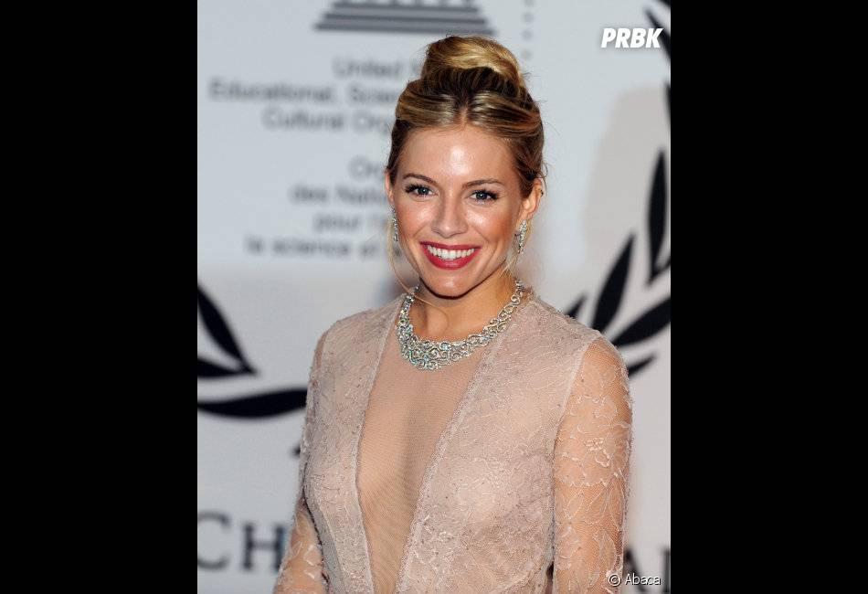 Sienna Miller était présente au mariage de Carey et Marcus