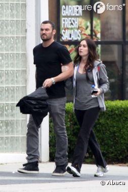 Brian Austin Green et Megan Fox se rendent à l'église de L.A