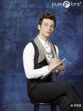Chris Colfer changera bientôt de personnage dans Glee