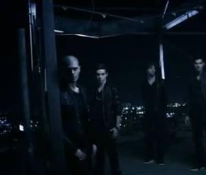 The Wanted dans le clip de Chasing The Sun