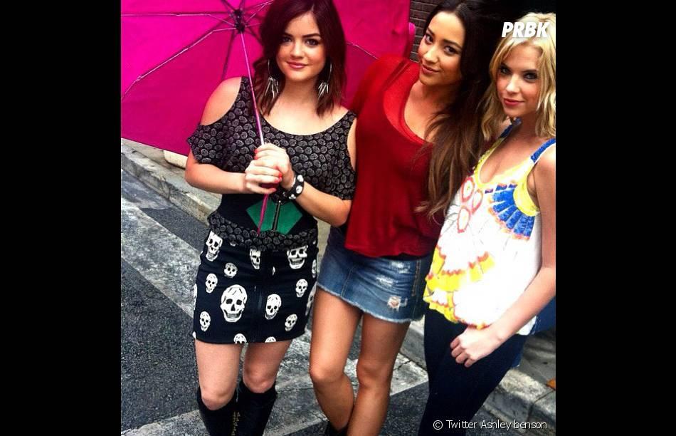 Ashley Benson et ses copines de Pretty Little Liars