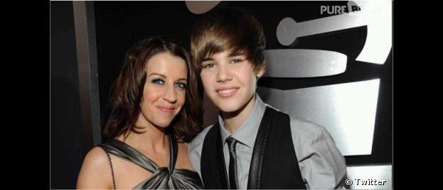 Justin Bieber est très proche de sa maman !
