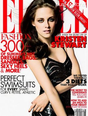 Kristen Stewart en couverture du ELLE UK