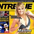 Photo sexy de Marine de La Belle et ses princes presque charmants en bikini dans Entrevue