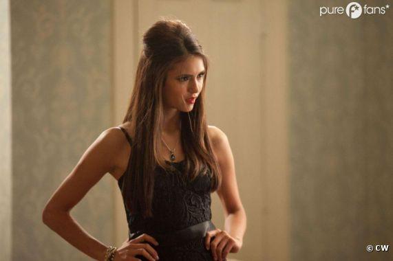 Pas facile de jouer deux vampires pour la belle Nina Dobrev !