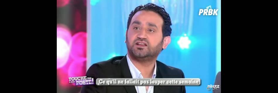 Cyril Hanouna sur le plateau de Touche pas à mon poste