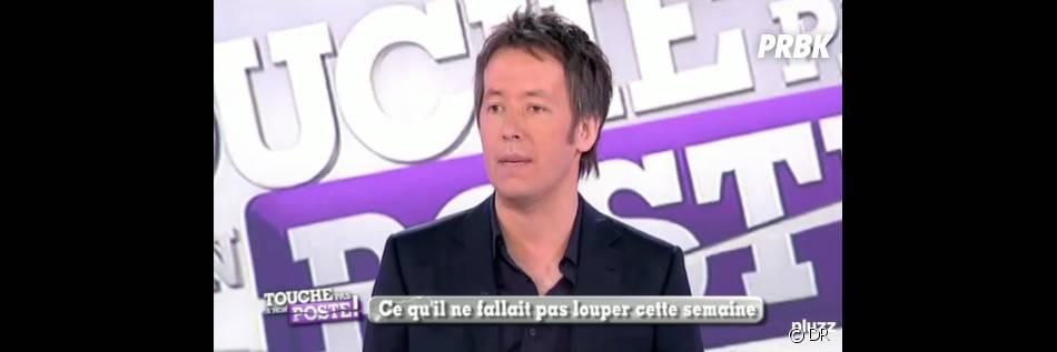 Jean-Luc Lemoine sur le plateau de Touche pas à mon poste