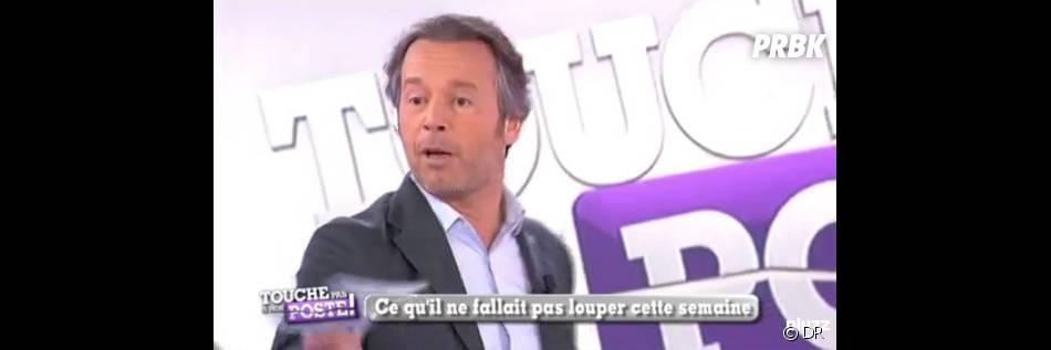 Jean-Michel Maire sur le plateau de Touche pas à mon poste
