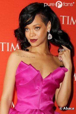 Rihanna glamour à souhait