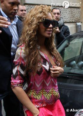 Beyoncé a le sourire grâce à sa petite famille