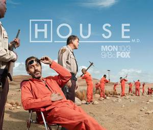 House en prison au début de la saison 8