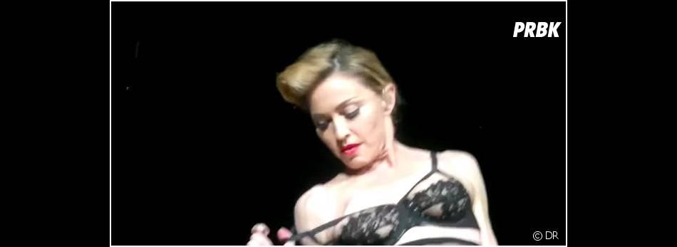 Madonna se la joue sexy